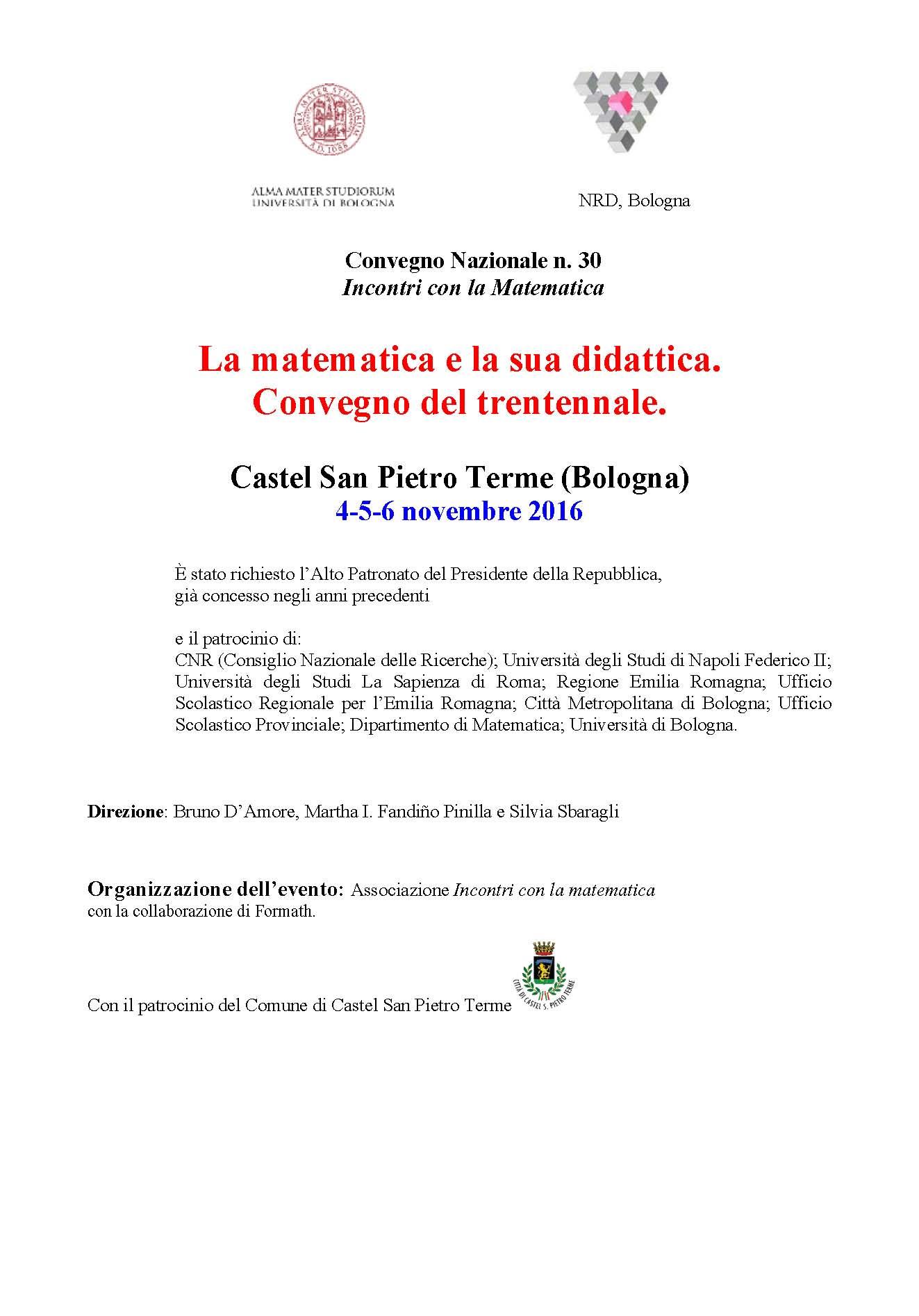 Geometriko Convegno Castel San Pietro Terme
