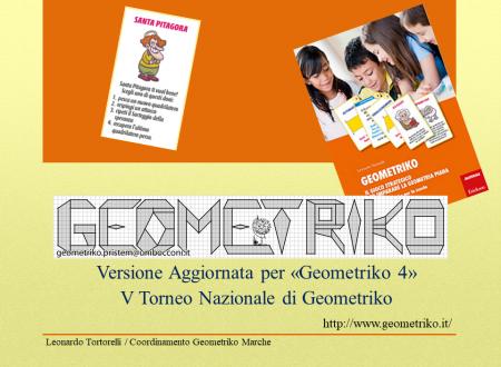 Riepilogo Regole Geometriko + Partita Simulata