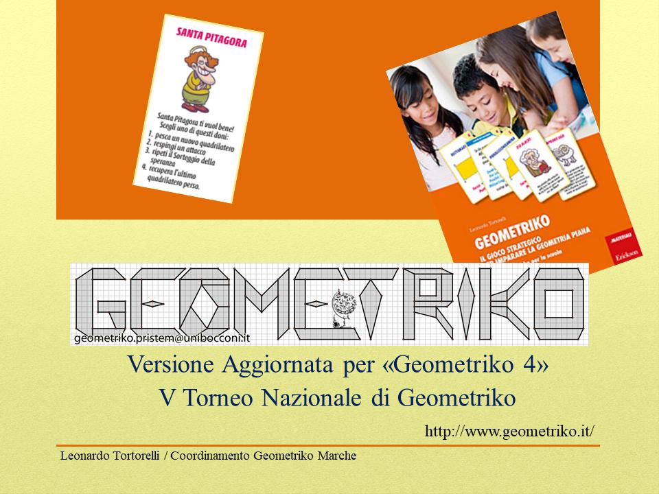 Riepilogo Regole Geometriko